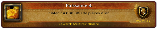 Gagner des millions de pices d'or wow