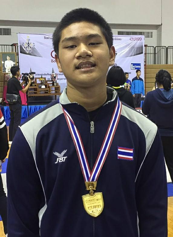 Champion Foil U-17 THAILAND J&C 2017