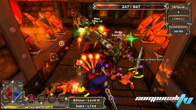 Dungeon Defenders PC Full Español