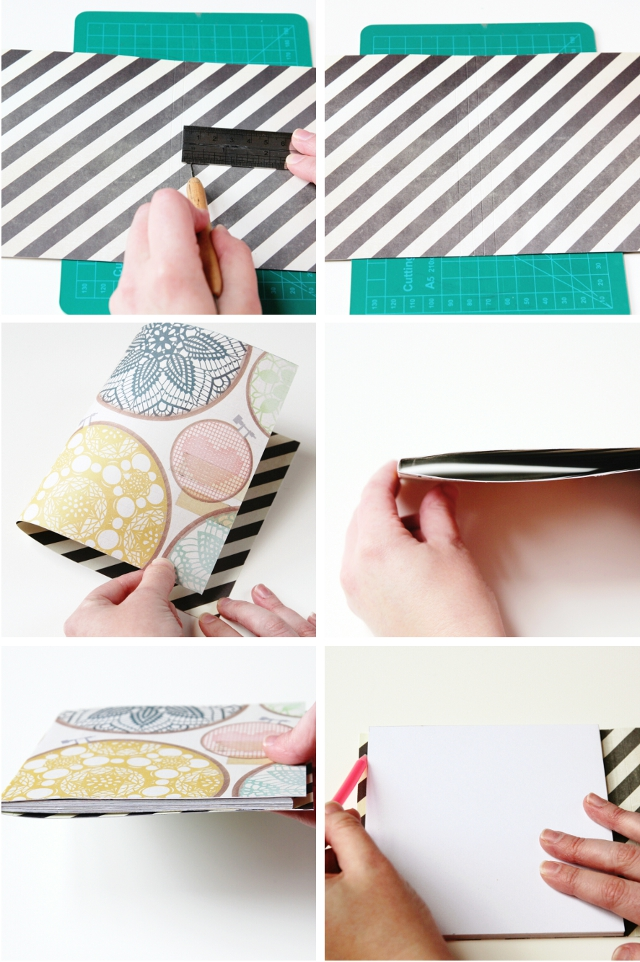 How to make your own diy notebooks
