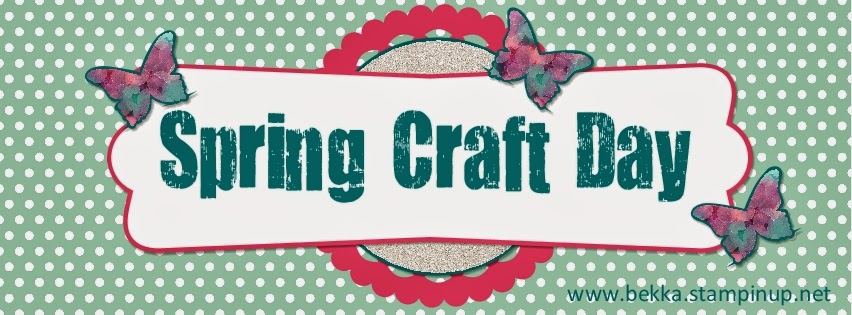 Feeling Crafty Spring Craft Day - now booking