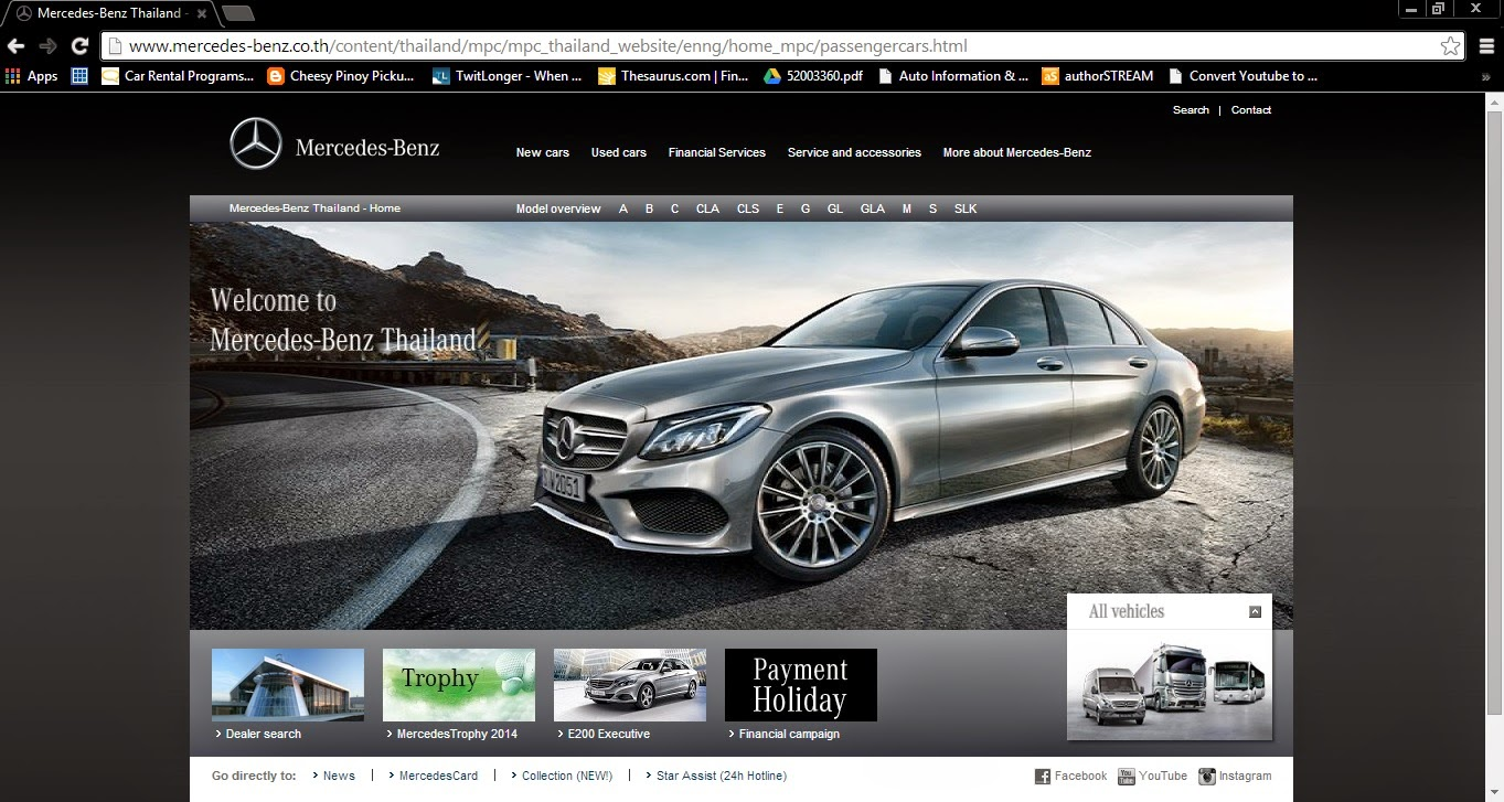 The ultimate car guide car features we compare the car for Mercedes benz thailand
