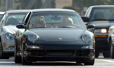 photo of Elisha Cuthbert Porsche - car