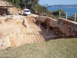Fases de construcción de una piscina que realizamos.