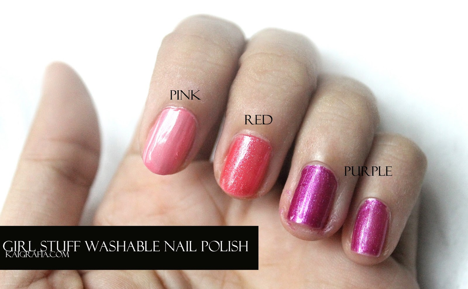 GirlStuff Nail polish giveaway