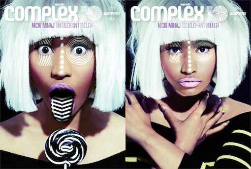 Nicki Minaj covers Complex magazine | Photoshoot