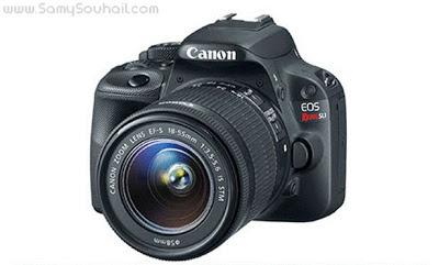 الكاميرا EOS Rebel SL1 .. أصغر وأخف كاميرا إحترافية في العالم.. (فيديو)