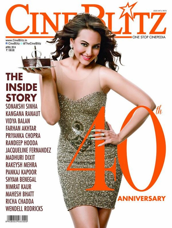 Sonakshi Sinha looks stunning as she graces the cover of CineBlitz's