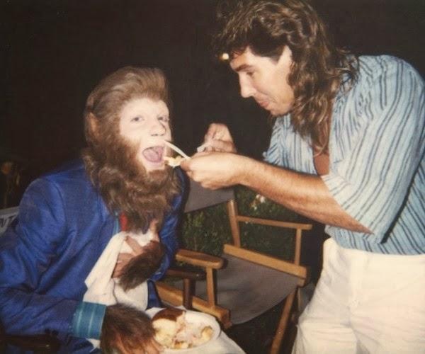 Return to Horror High movie scenes Behind the Scenes Teen Wolf Too 1987