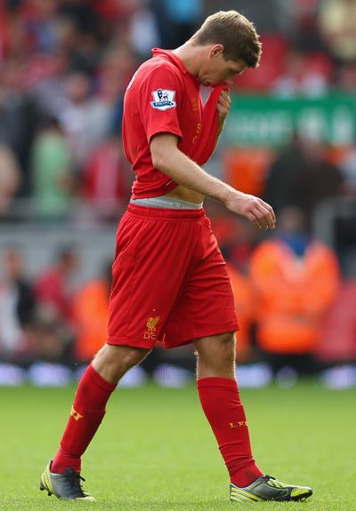 Liverpool vs Arsenal Steven Gerrad 2012