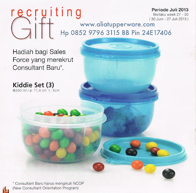 Judul: Activity Tupperware Juli 2013