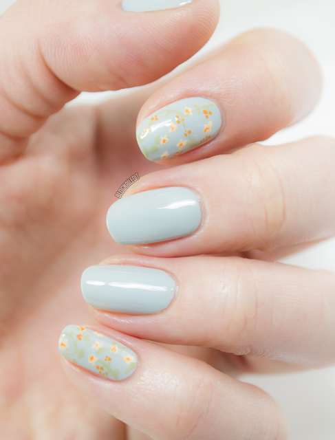 Whispering Petals by Katy @ Nailed It