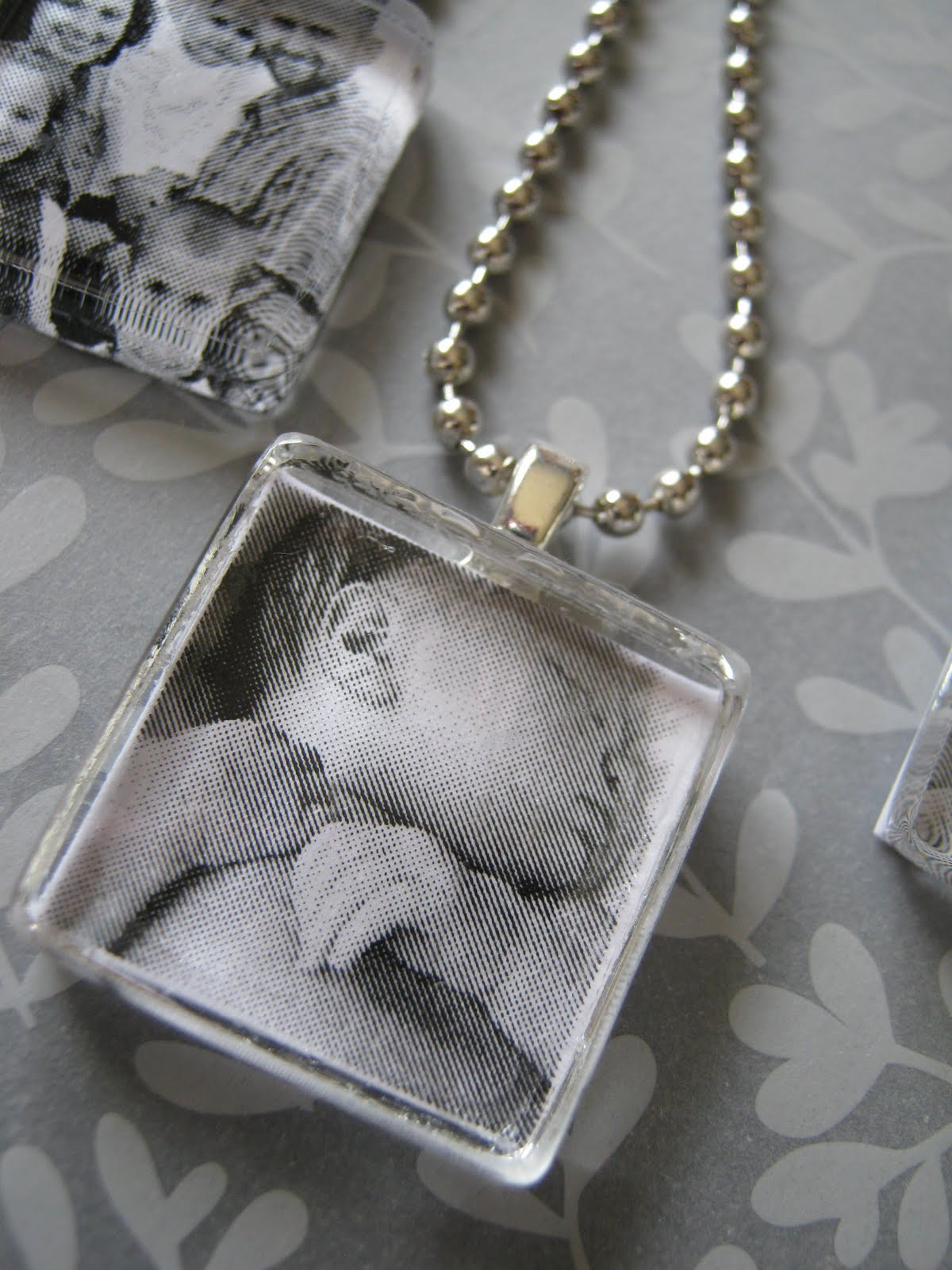 Ginger snap crafts tutorial photo pendants mozeypictures Images