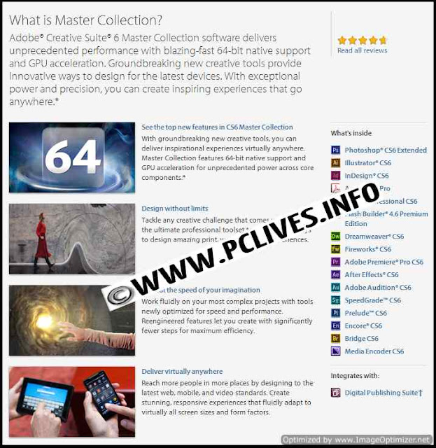 cracked Adobe Creative Suite CS6 Master Collection