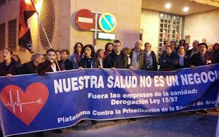 Sancionados dos trabajadores del SALUD