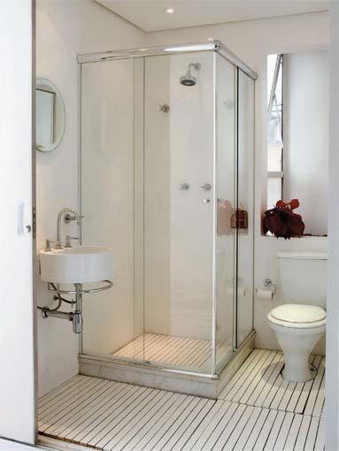Como decorar um banheiro casa e imoveis Decoração  Casa  Apartamento -> Como Deixar Um Banheiro Pequeno Lindo