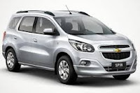 Harga Chevrolet SPIN 2013 Lengkap