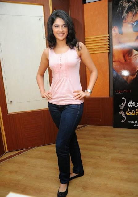 Deeksha Seth in Pink Top
