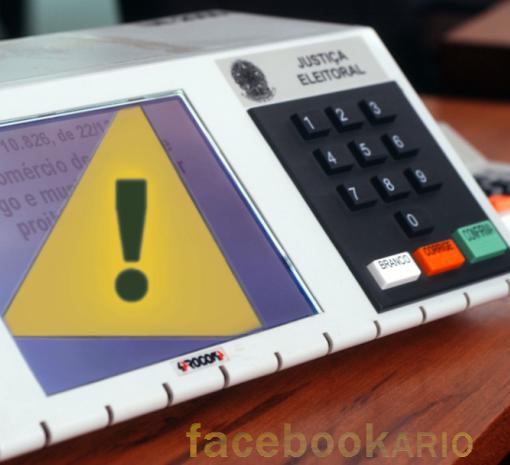 Urna eletrônica pode estar fraudada no governo PT