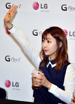 LG EXID Fansign Hyerin