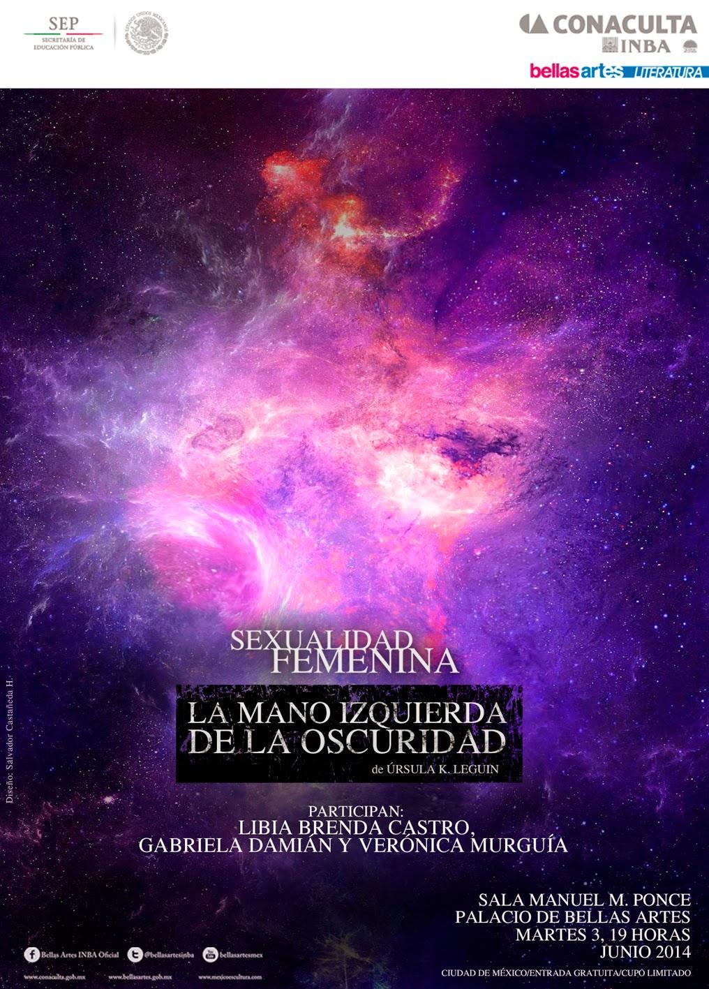 """El ciclo """"La sexualidad femenina"""" presenta a Úrsula K. Leguin en Bellas Artes"""