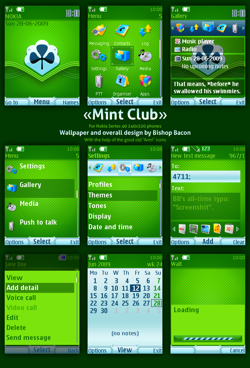 Nokia Mobile Themes 2700