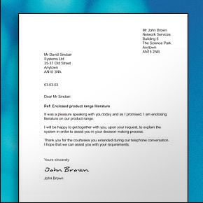 David Scott Education Blog Spot : Write a business letter ...