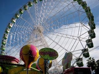 Noria gigante en la Feria del Hielo de Sevilla