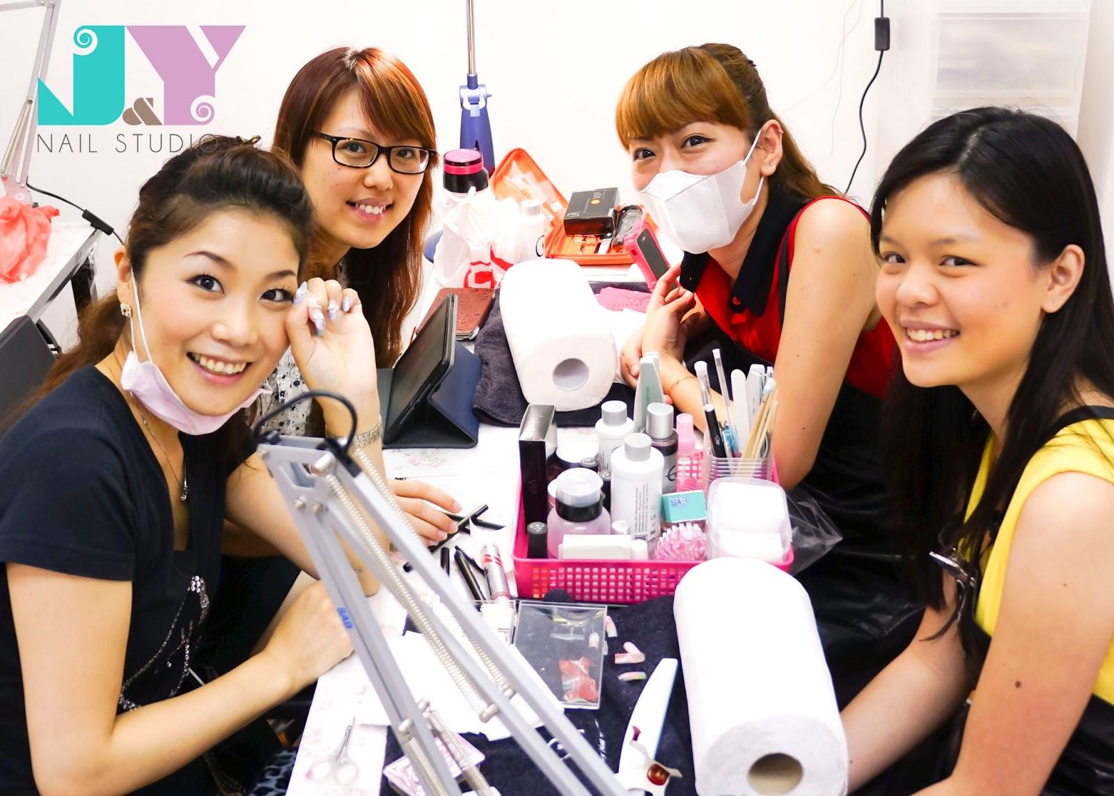 J Nail Studio Ons Professional Full Nail Course Singapore