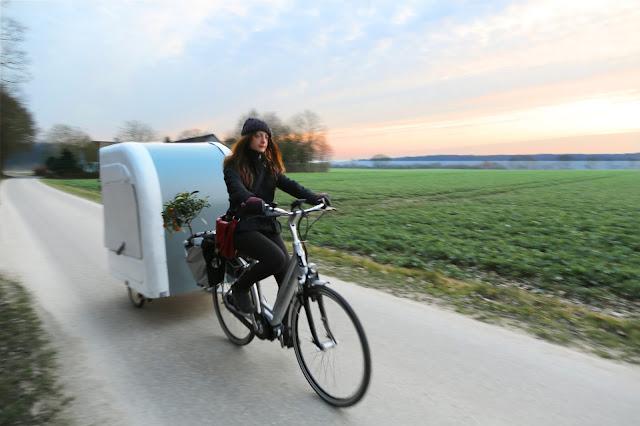 bike riding camping