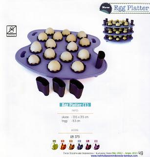 Info & Harga Twin Tulip Tulipware 2014 : Egg Platter
