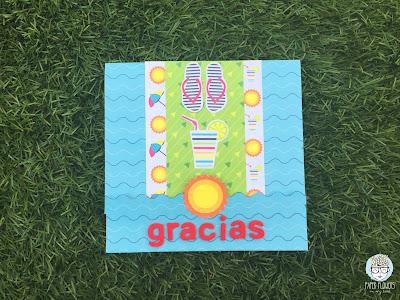 tarjeta agradecimiento rápida