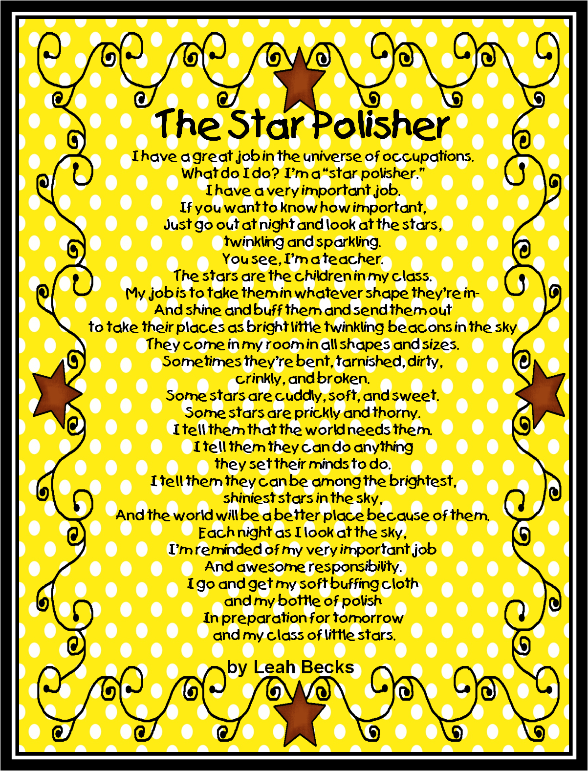 appreciation poems for first grade teachers | just b.CAUSE