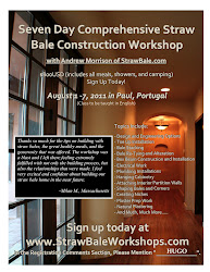 7 Day Comprehensive Straw Bale Workshop with Andrew Morrison