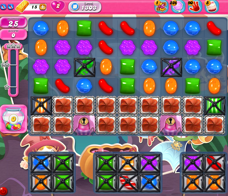Candy Crush Saga 1303