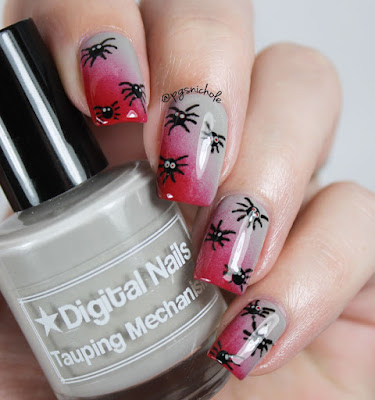 Digital Nails + Octopus Party + Spiders