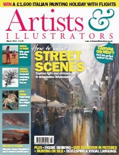 Artists and Illustrator Magazine March 2014