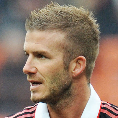 David Beckham Short Hair
