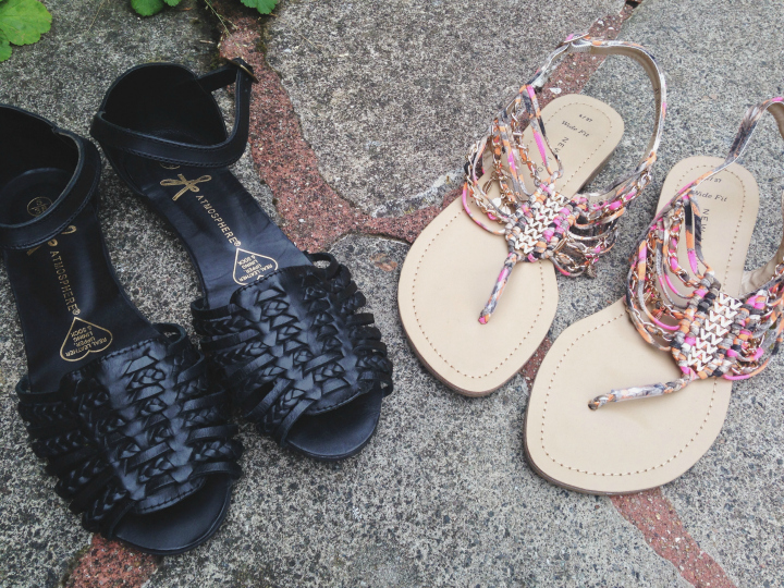 Primark and New Look Summer Sandals