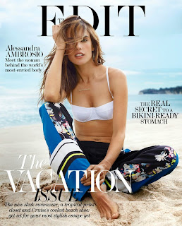 Alessandra Ambrosio for Edit Magazine Dec 2013 Sexy Hot Bra Panties and Bikini
