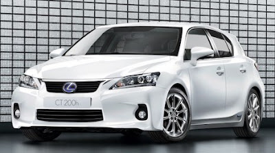 Lexus CT 200h awarded Top Safety Pick