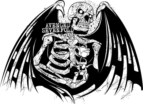 avenged sevenfold logo. Avenged Sevenfold Logo 2011