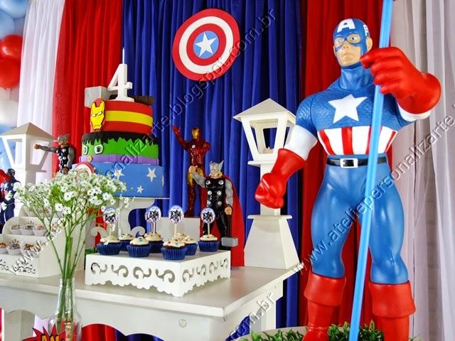 Decoração Os Vingadores provençal Porto Alegre