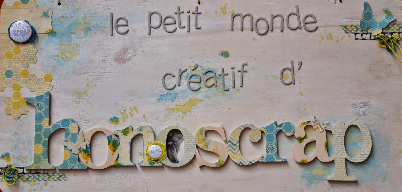 Le petit monde créatif de Honoscrap