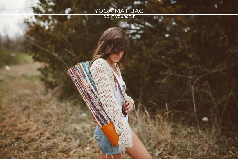 Sincerely kinsey yoga mat bag diy yoga mat bag diy solutioingenieria