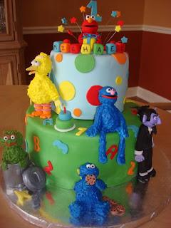 Creative Sesame Street Birthday Cake