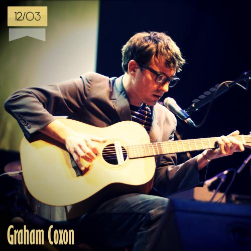 12 de marzo | Graham Coxon - @grahamcoxon | Info + vídeos