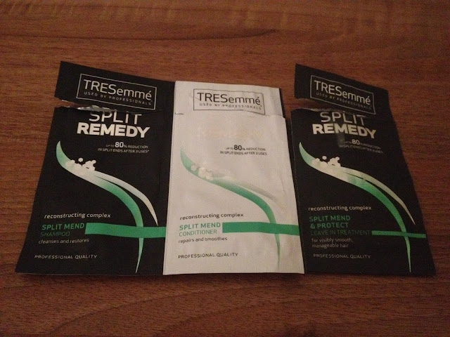 Tresemme Split Remedy Samples