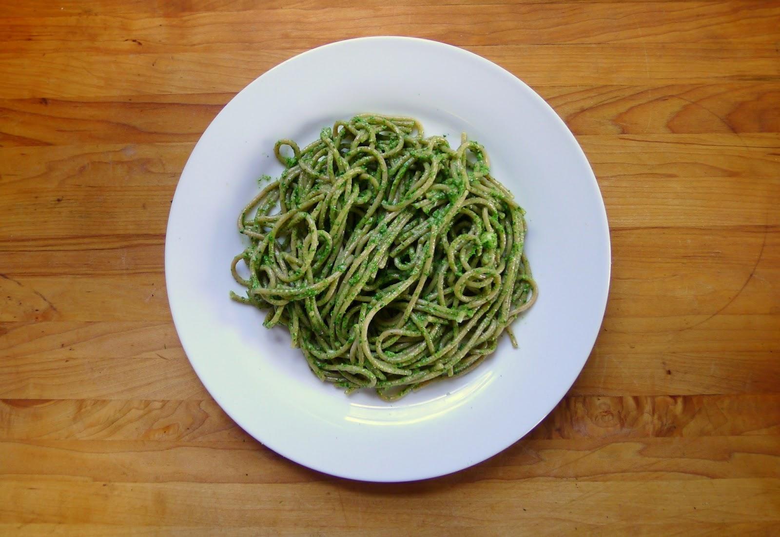 Nettle Pasta Recipe — Dishmaps