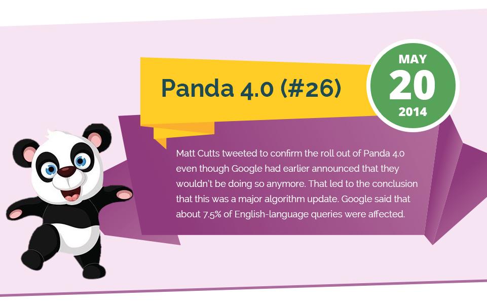 Cập nhật Panda 4.0